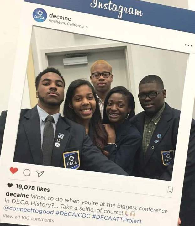 DECA ICDC Instagram picture 2017