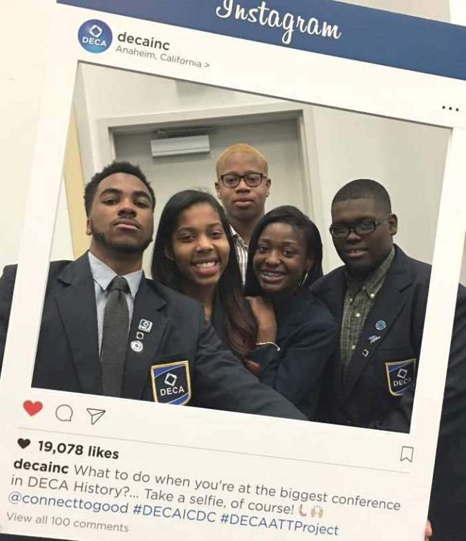 DECA ICDC Instagram picture 2017